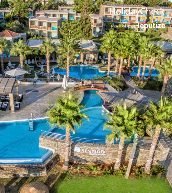 SENTIDO Blue Sea Beach Resort Captures Guest Feedback on Tablets and  Increases OTA Ratings   Customer Case  120 published reviews. SENTIDO Blue Sea Beach Resort Captures Guest Feedback on Tablets